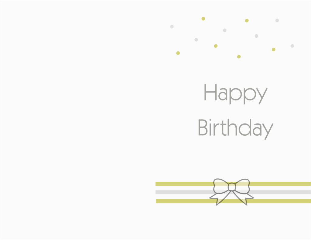 Printable Happy Birthday Cards Free Ideas Greeting Card Template