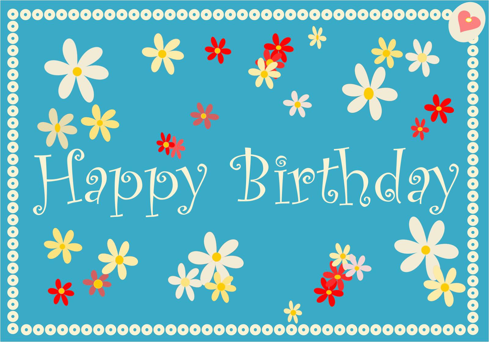 free printable happy birthday cards ausdruckbare