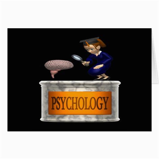 psychology greeting card zazzle