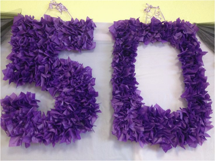 Purple 50th Birthday Decorations Best 25 Ideas On Pinterest
