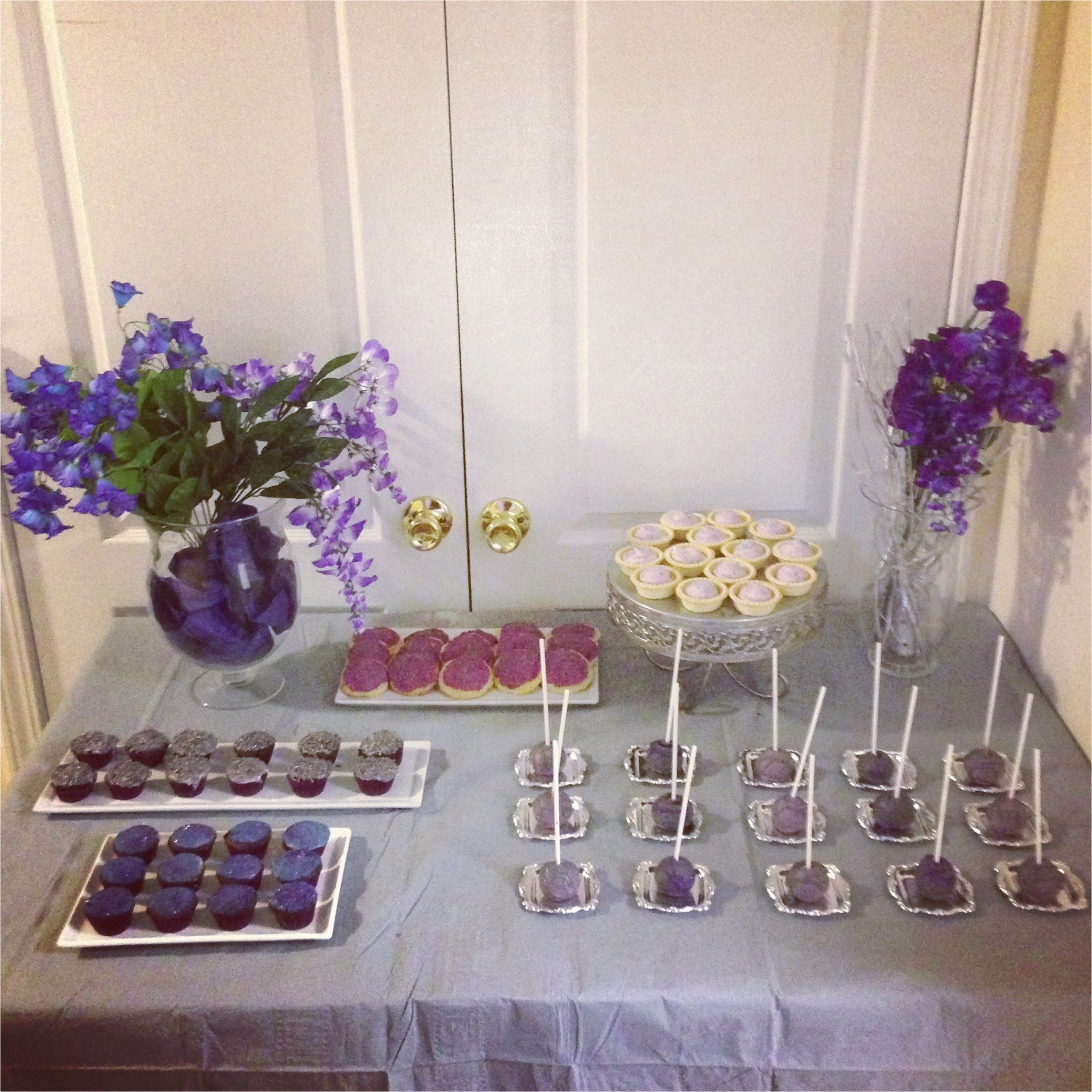 purple and silver themed party purim 2013