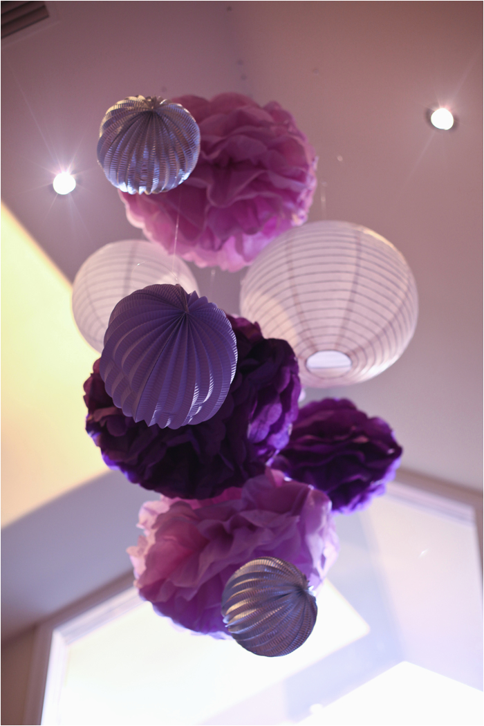 Purple And White Birthday Decorations Little Big Company The Blog Themed Party By
