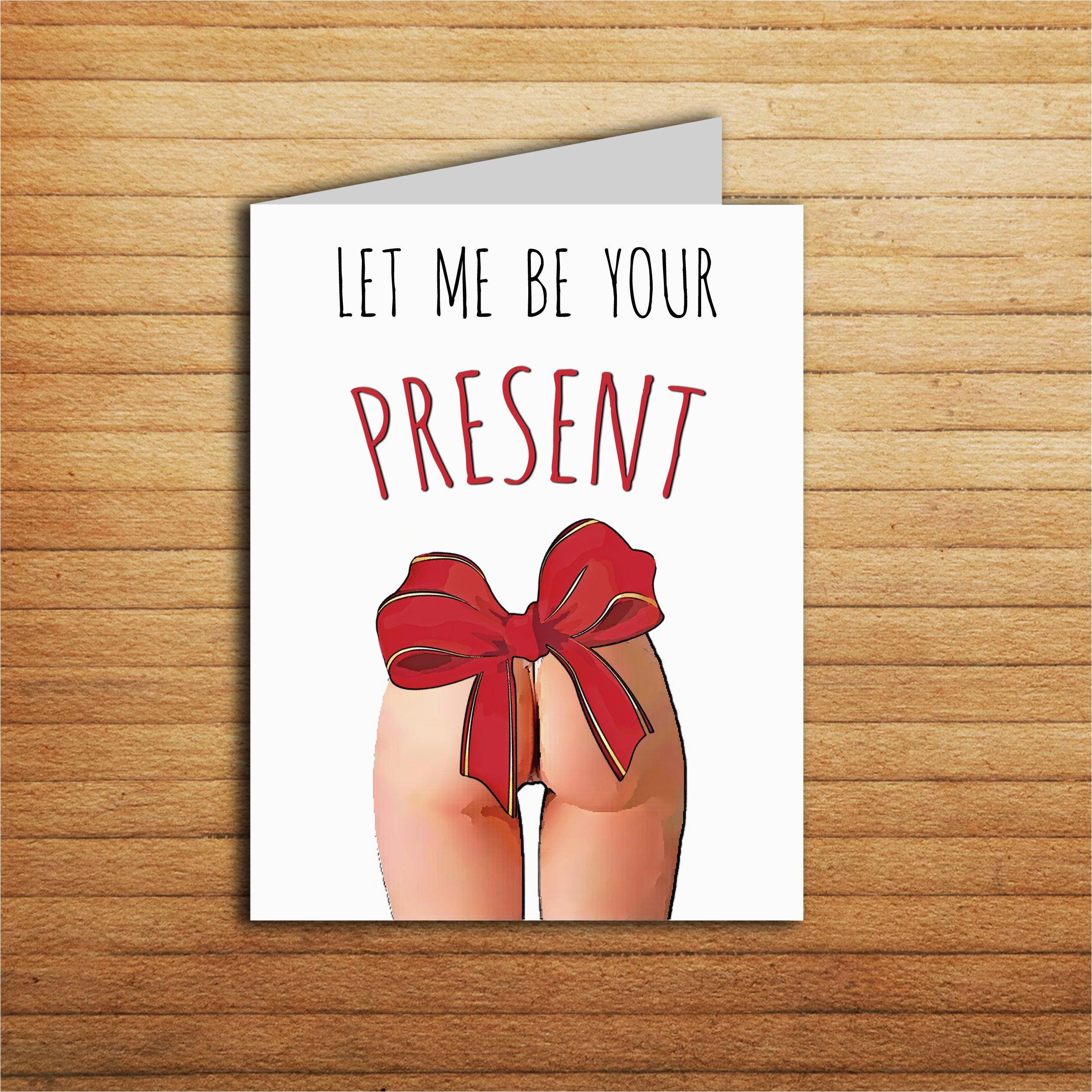 sexy birthday card for boyfriend birthday gift printable funny