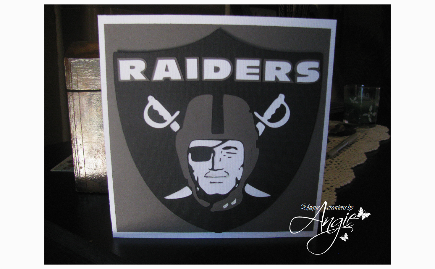 raiders card