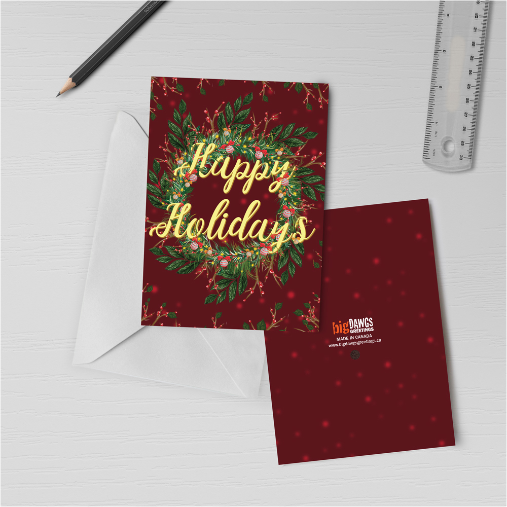 Record Your Own Message Birthday Card 120s Holiday Cards With Recordable Sound Happy Holidays