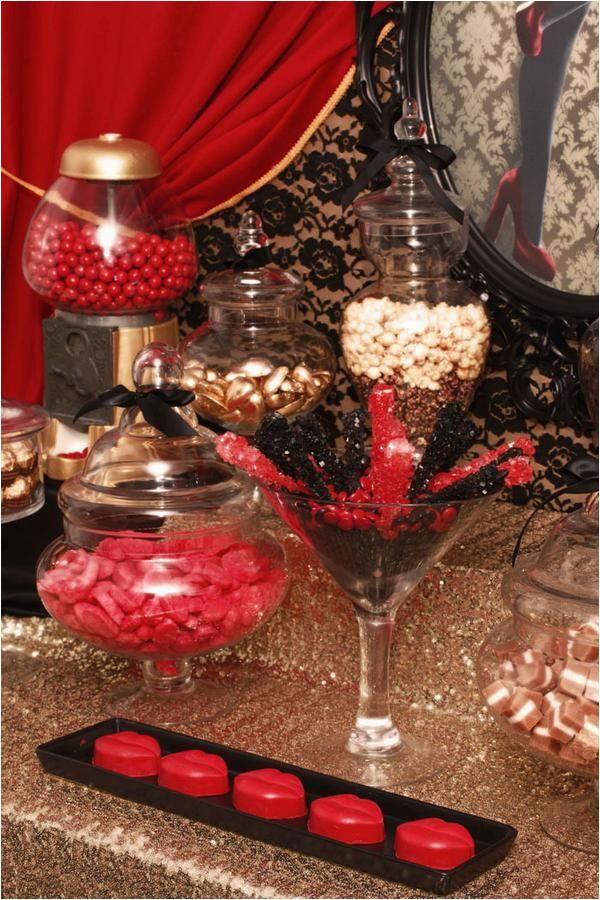50th birthday party red carpet affair