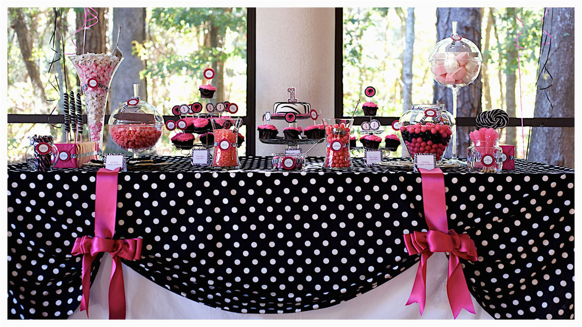 pink and black party decorations 9 high resolution wallpaper