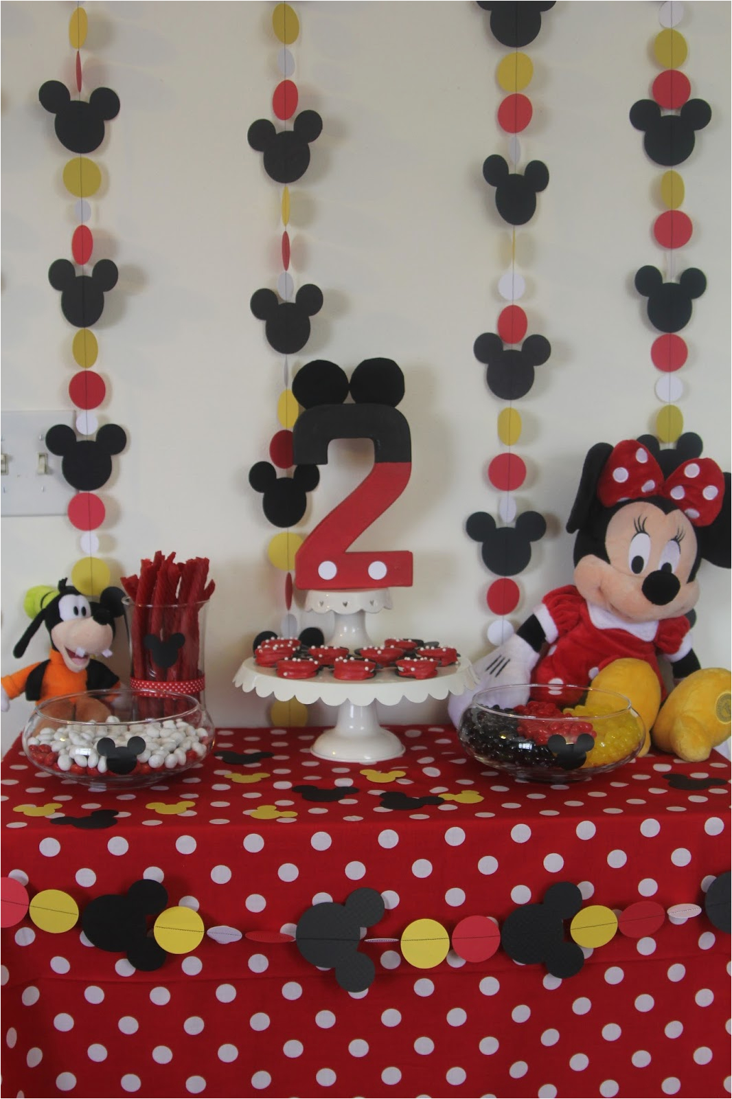 Red Minnie Mouse Birthday Party Decorations Decorating the Dorchester Way Simple Red Minnie Mouse