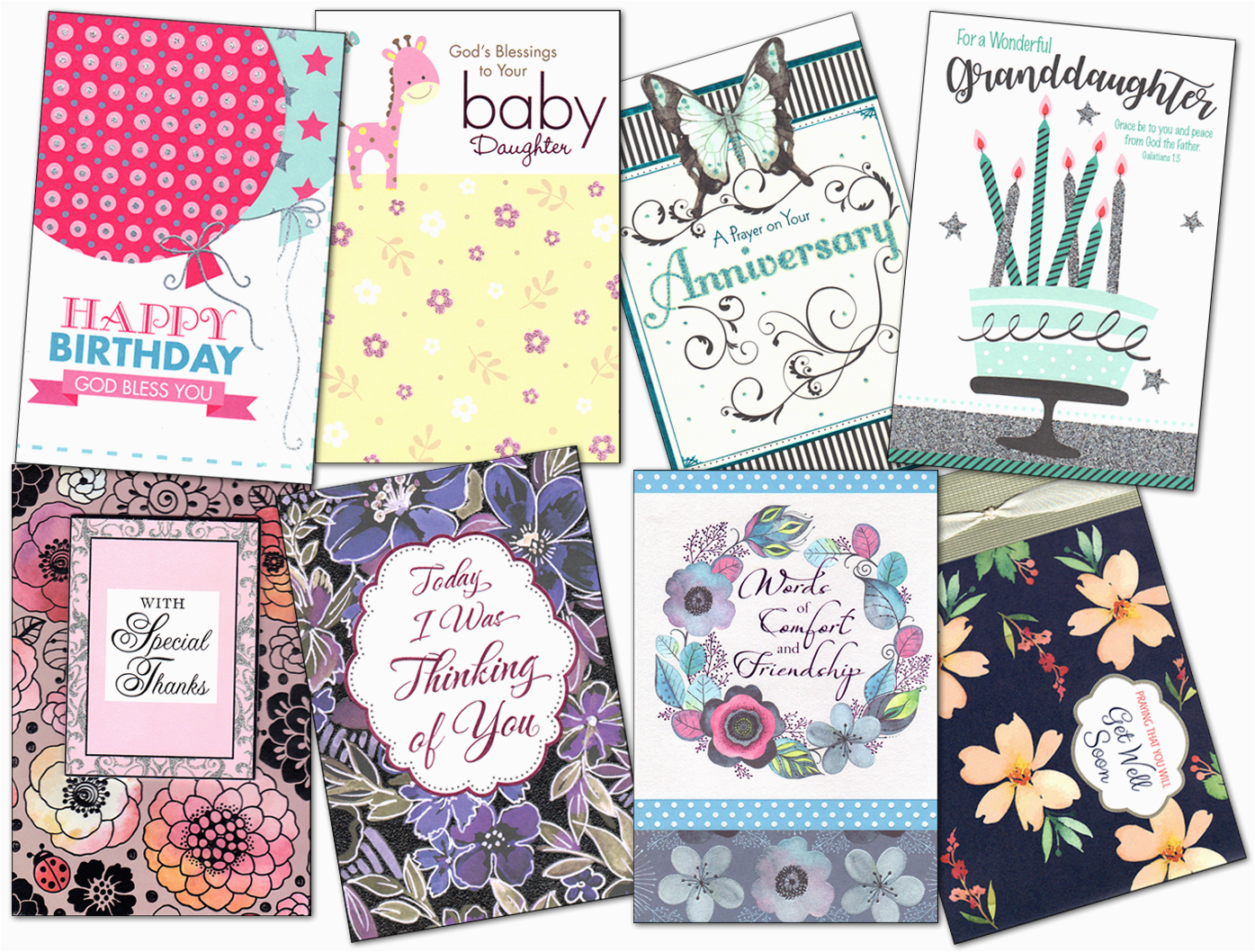 christian greeting cards new standards