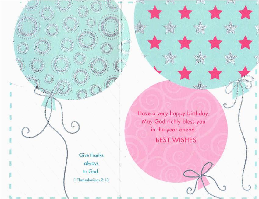1706 399 retail each birthday general religious pkd 6 p 137