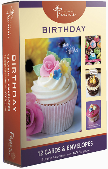 Religious Birthday Cards In Bulk Wholesale Boxed With Scripture