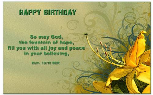 birthday bible verses quotes