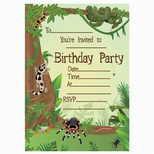 Reptile Birthday Invitations Printable Free 320 Best Images About Animal Party Invitations On