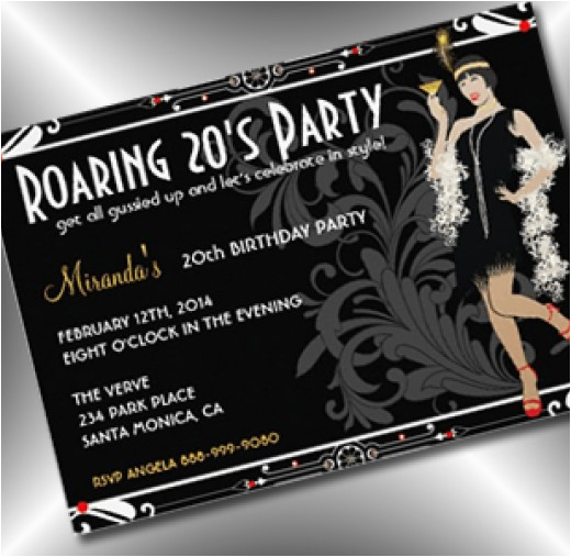 hosting a roaring 20s party