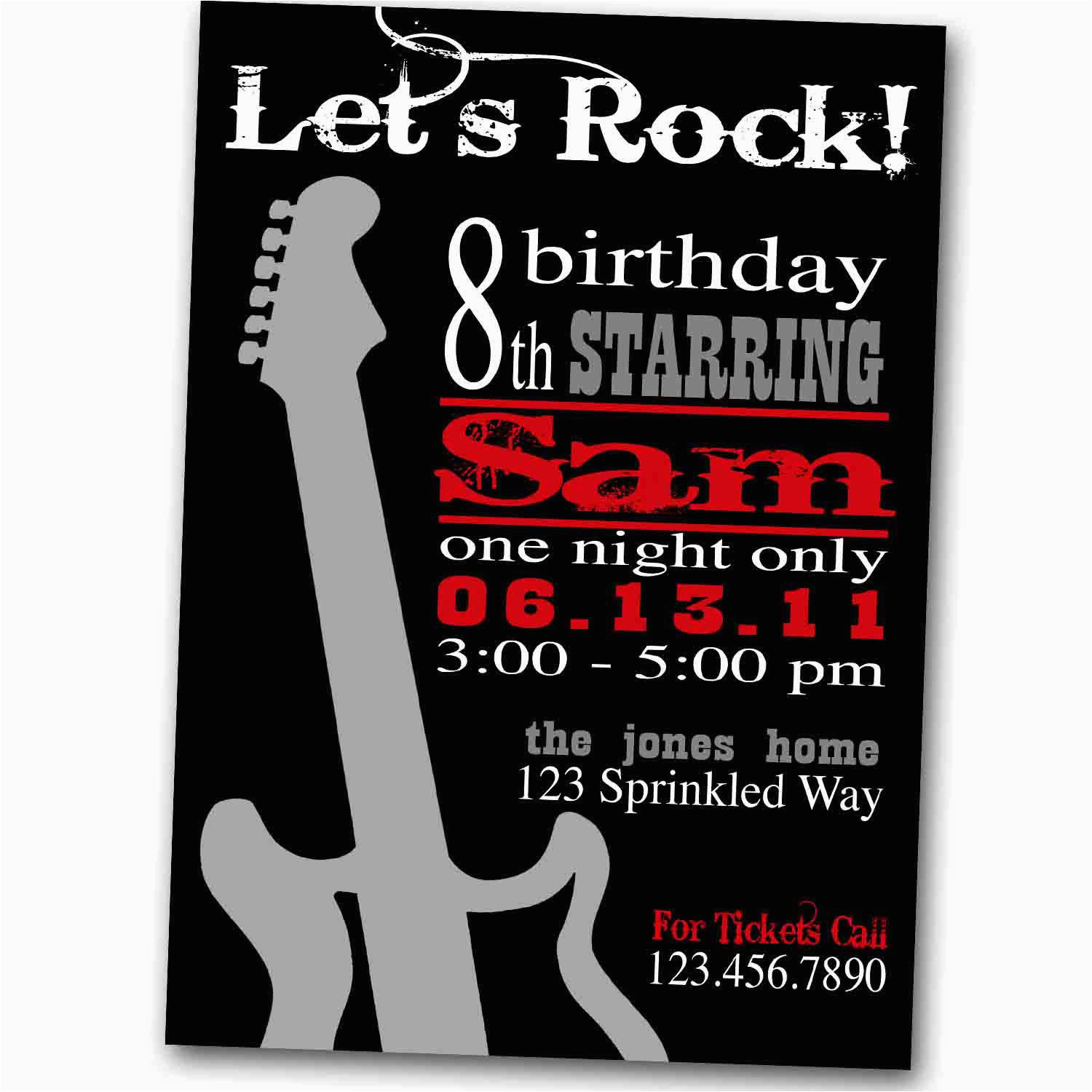 Rock And Roll Birthday Quotes