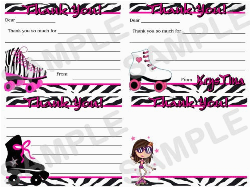 Roller Skating Birthday Invitations Templates Skate Invitation Template Free