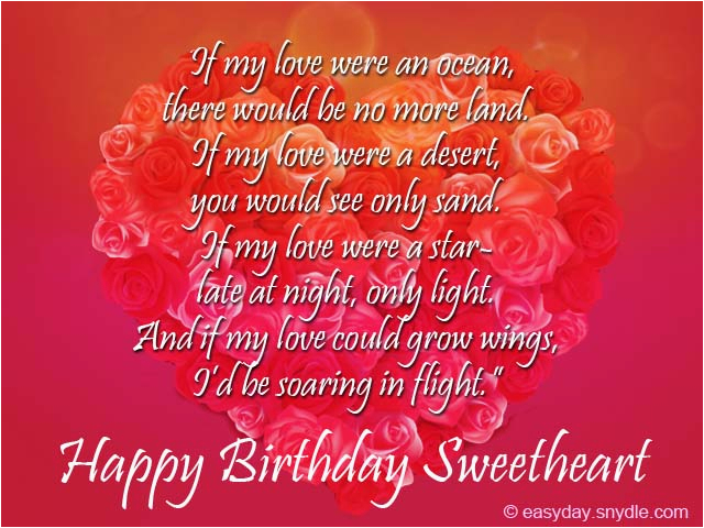 Romantic Birthday Card Messages For Him Wishes Easyday