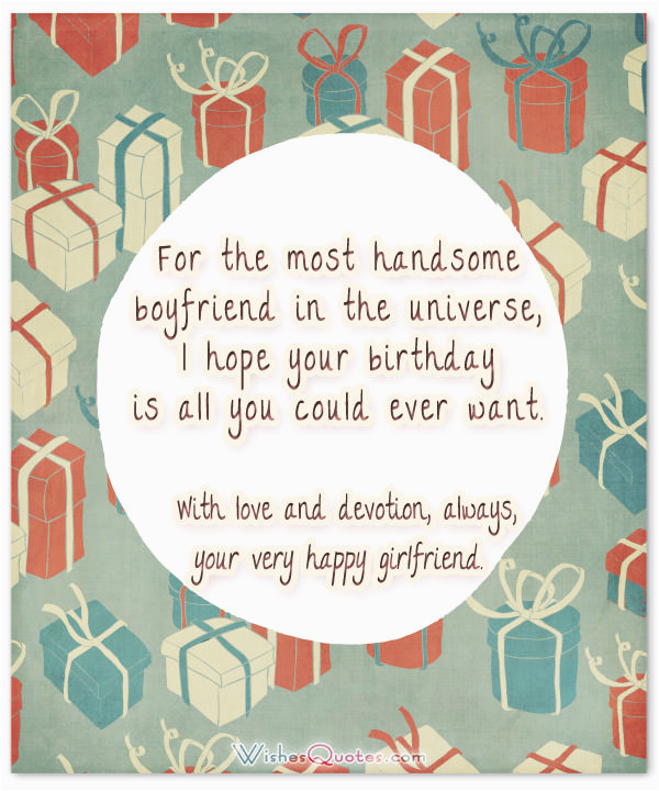 Romantic Birthday Cards For Boyfriend 70 Cute Wishes Your Charming
