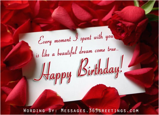 Romantic Birthday Cards For Girlfriend Romantic Birthday Messages