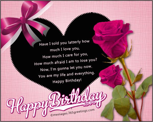 romantic birthday wishes 365greetings com