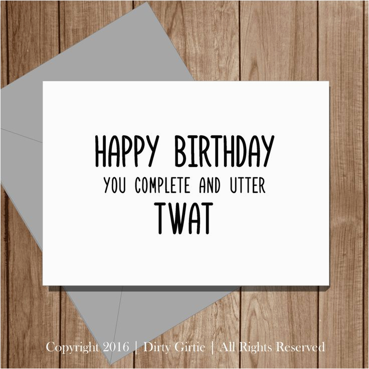 11 best rude birthday cards images on pinterest rude