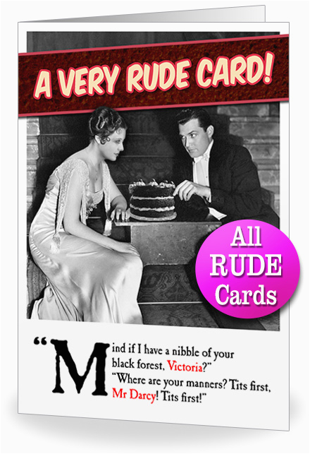 Rude Birthday Cards for Her Rude Birthday Cards