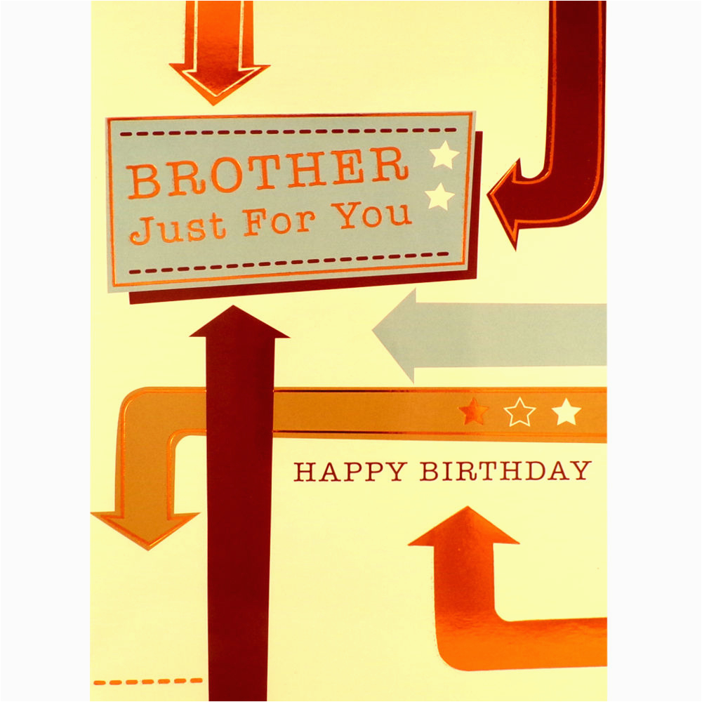Rude Brother Birthday Cards Card Funny Humorous Greetings