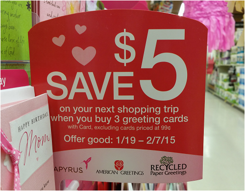 safeway 3 greeting cards as low as 0 97 with catalina