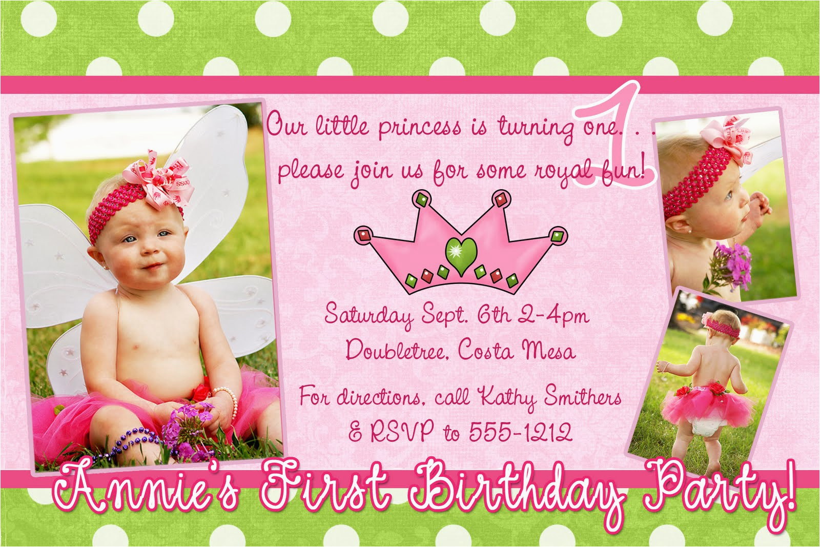 Sample Of 1st Birthday Invitation Card Samples Best Party Ideas