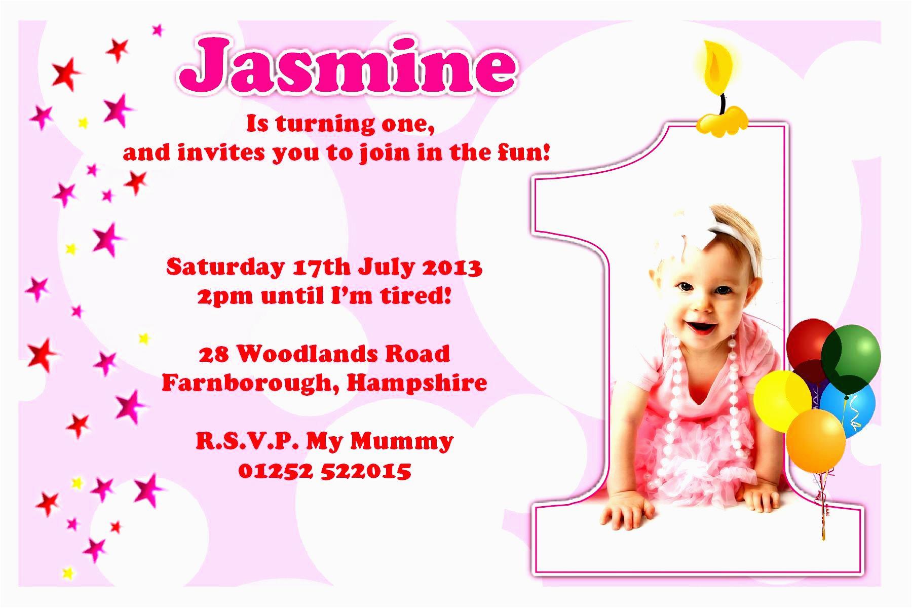 sample birthday invitations