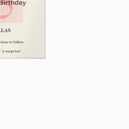surprise 50th birthday save the date card zazzle com