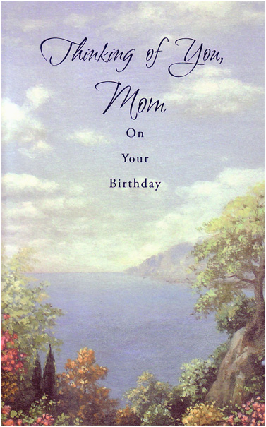 cd5542 scenic view of bay mother birthday card freedom greetings
