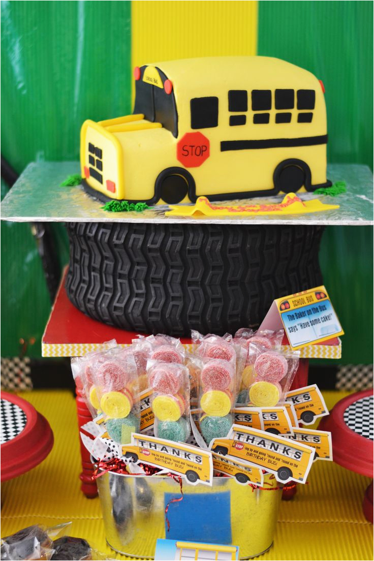 School Bus Birthday Party Decorations 24 Best Images About School Bus theme Party Ideas On