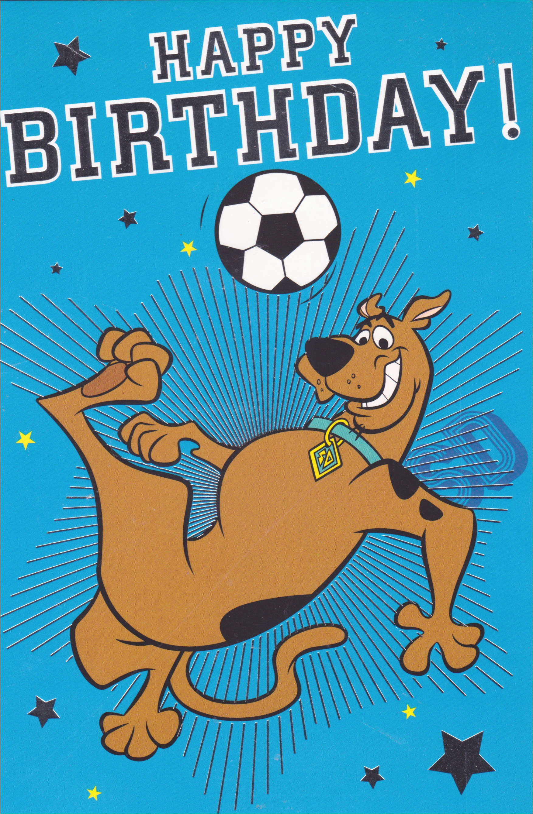 scooby doo birthday card cards crazy