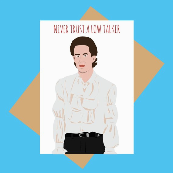 seinfeld greeting card jerry seinfeld low talker funny