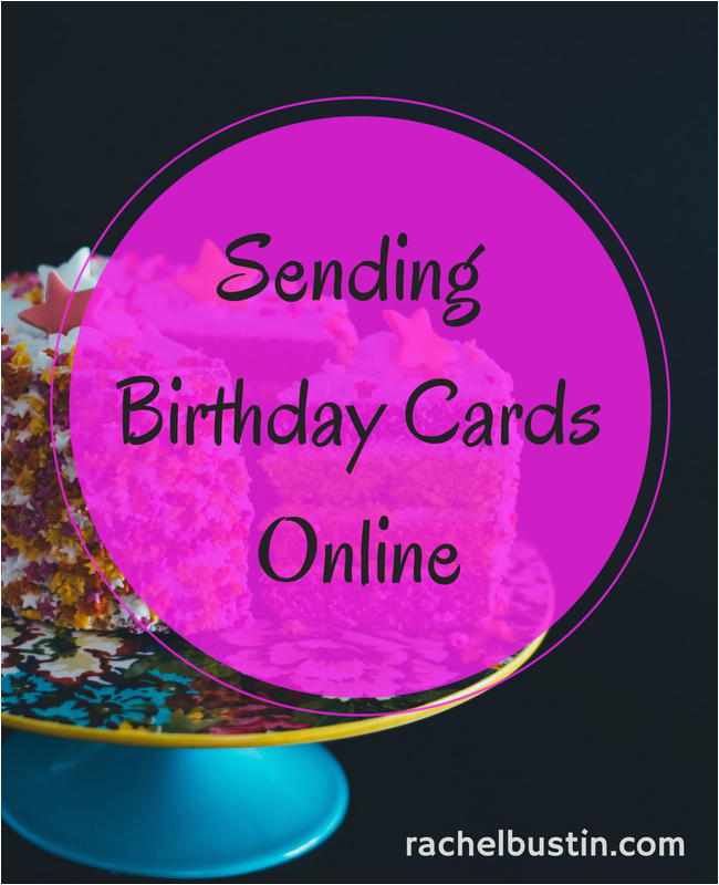 sending online birthday cards