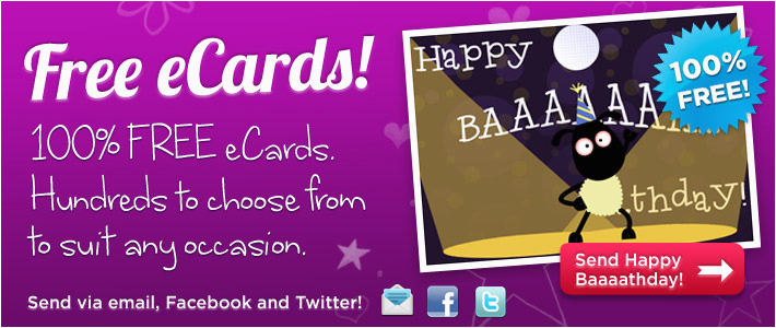 Send Birthday Card On Facebook Free Ecards