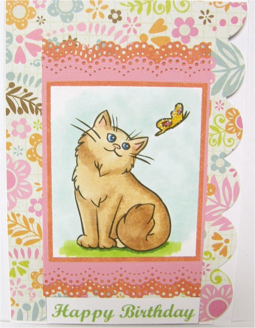 Send Birthday Card On Facebook Free Ecards Beautiful Cat E Cards For