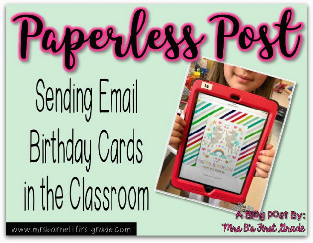 sending birthday cards with paperless