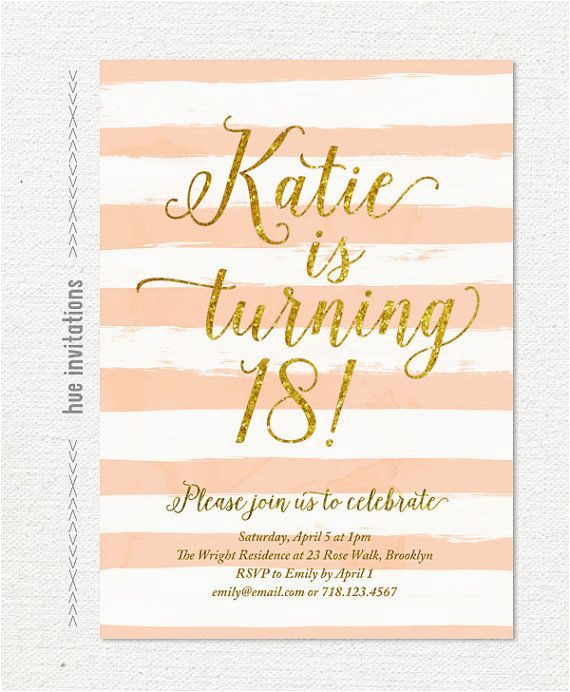 Send Birthday Invitations Online Digital Printable 5x7 Invitation Customized For Your Event