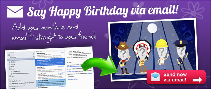 Send Happy Birthday Cards Online Free A Card By Email For Best