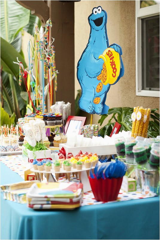 Sesame Street Birthday Decoration Ideas Kara 39 S Party 2nd