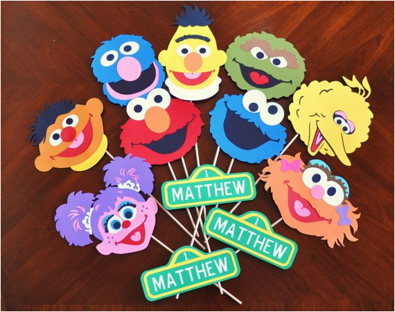Sesame Street Birthday Decoration Ideas Party Decorations