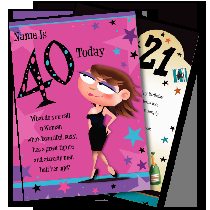 birthday greeting cards by age