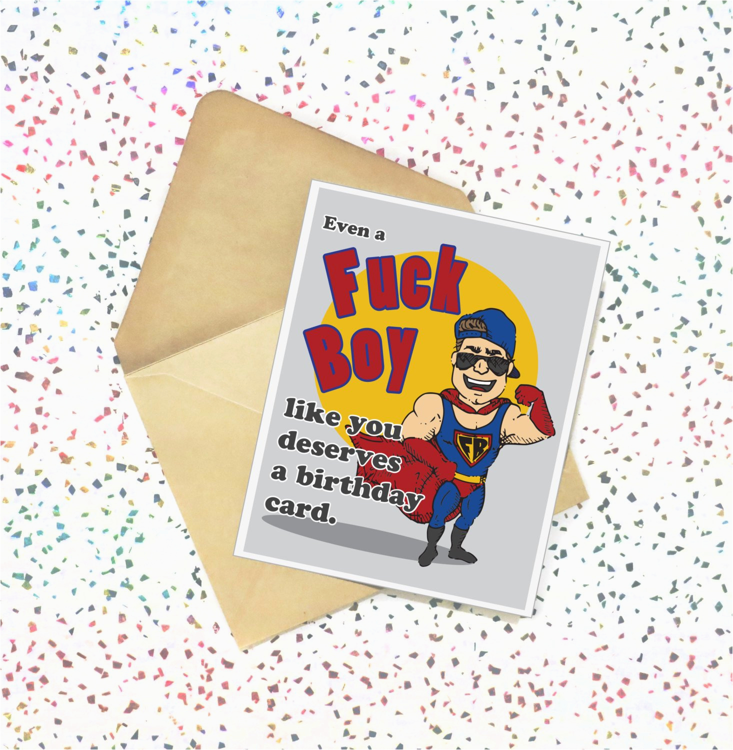 Sexy Birthday E Card Fk Boy Like You Funny Birthday Card Adult Greeting Card