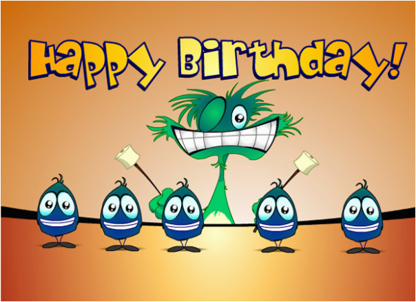 Singing Birthday Cards By Text Message Free Funny Happy Ecards Wishes