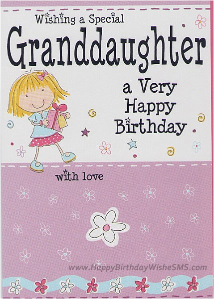 Singing Birthday Cards For Granddaughter Wishes Happy Quotes