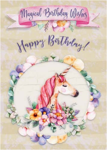 Singing Birthday Cards For Granddaughter Magical Wishes Free Extended