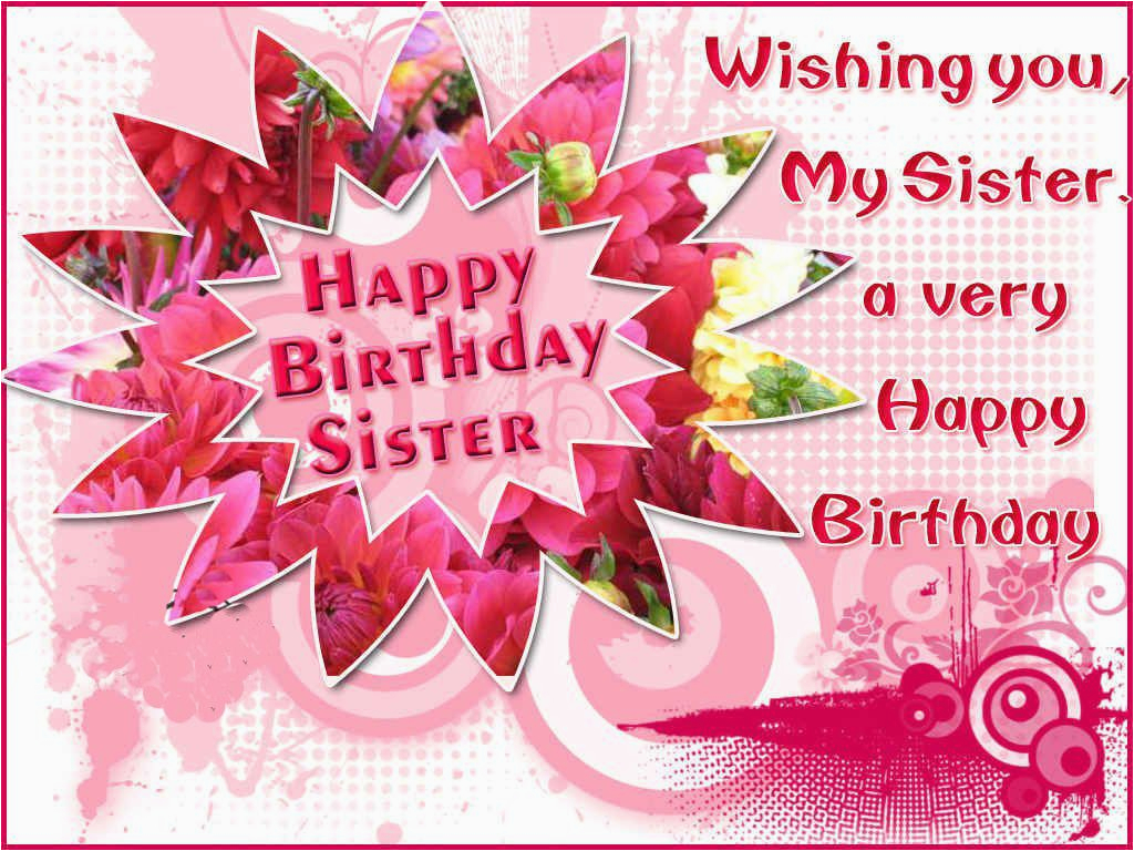 Singing Birthday Cards For Sister Free Card Animated Happy