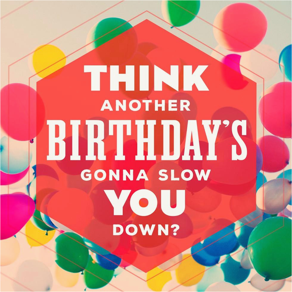 Not Slowing Down Musical Birthday Card Greeting Cards